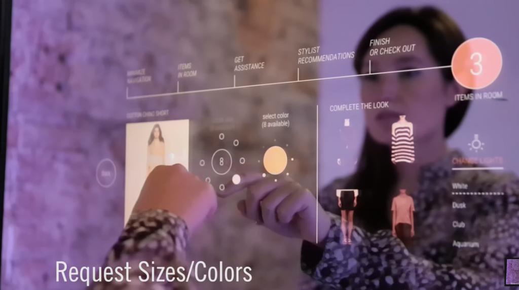 Le digital dans le shopping experience