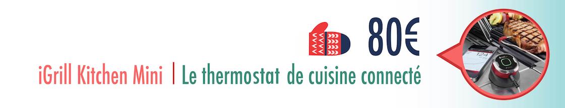 thermostat de cuisine connecté