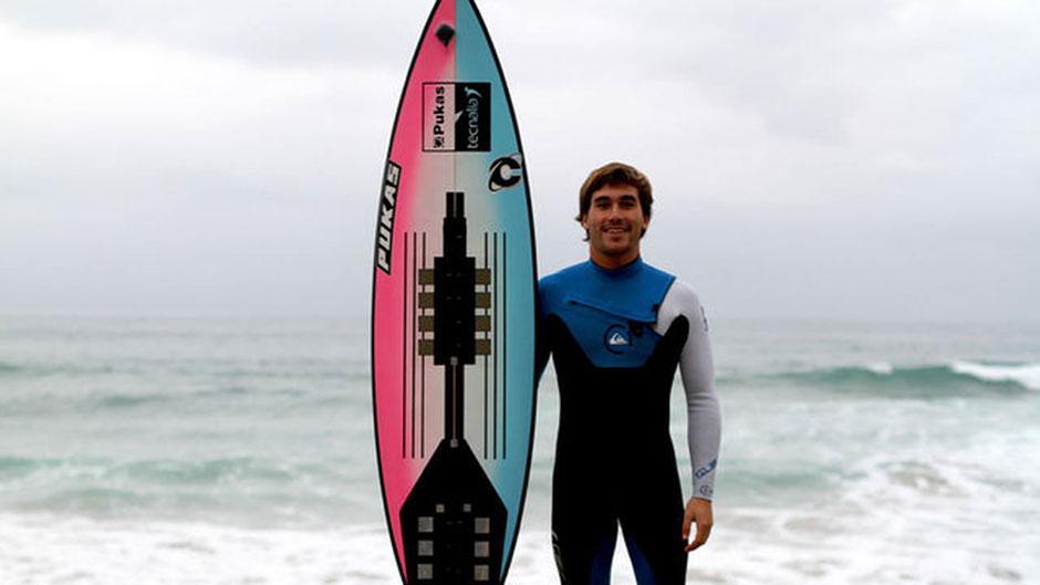 Planche de surf connectée Surfsense, nouveauté dans le digital