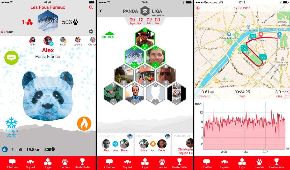 Application mobile ludique SquadRunner