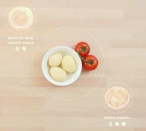 La cuisine connectée qui te propose des recettes